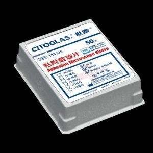 CITOGLAS 80312-3161-16,世泰 粘附载玻片,45°角,表面带正电荷,抛光边,