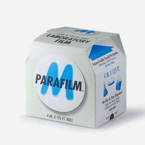 Parafilm PM996,封口膜,4英寸*125英尺/卷(10cm×38m),热塑性自封薄膜,12卷/箱