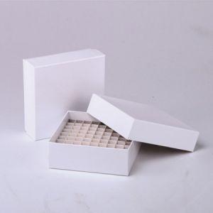 SolelyBio SBM0003,81孔纸质冻存盒,加厚覆膜纸,9*9格,采用耐用型硬纸板制成
